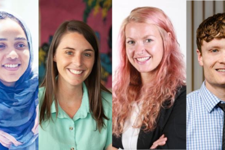 Headshots of the 2020-21 Skoll Scholars
