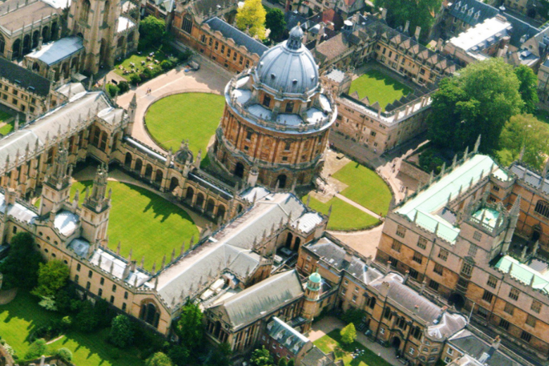 Aerial image of Oxford