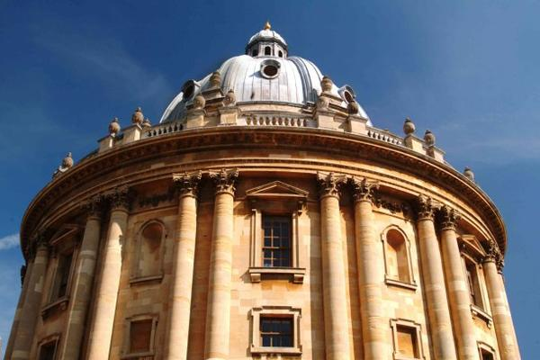 Radcliffe Camera blue sky background