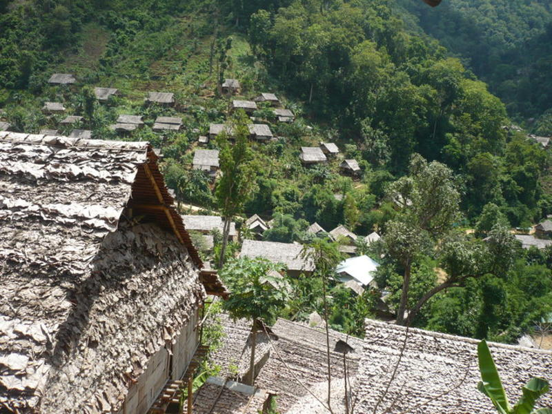 mae la oon camp from above